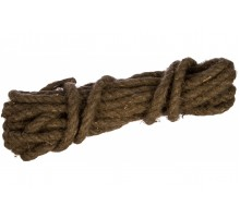 Веревка  льнопеньковая, D 12 мм, L 10 м, крученая, Сибртех