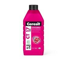 Ceresit Грунтовка СT 17 PRO глубокого проникновения  1 л морозостойкая