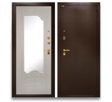 Дверь мет. Ampir 1512 белый ясень (960х2050 левая)