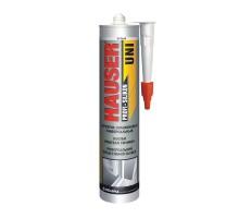 Герметик Hauser UNI силиконовый универсальный белый 260 мл (1 уп-12 шт)
