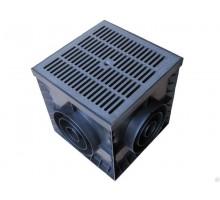 Дождеприемник PolyMax Basic ДП–30.30.30-ПП пластиковый 8370-М