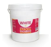 Краска для фасадов WHITE 30 кг 1уп.1шт