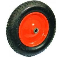 Колесо для тачки 16 мм х 400 мм, пневматическое, подшипник, Yard