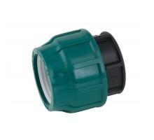 Заглушка соединительная полиэтиленовая компрессионная (обжим) 32