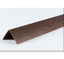 Угол двухсторонний 30х30 Орех LU042  2,7м  (1 уп-25 шт)