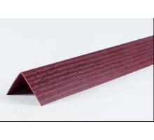 Угол двухсторонний 30х30 Махагон LU049  2,7м  (1 уп-25 шт)