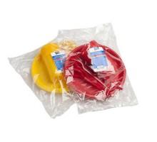 Набор однораз.посуды на 10 персон (цвет) в пленке