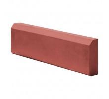 Поребрик клумбовый красный (бордюр) 500*210*50