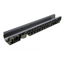 Лоток водоотводный PolyMax Basic ЛВ-10.16.08-ПП пластиковый стандартный борт 8010-М